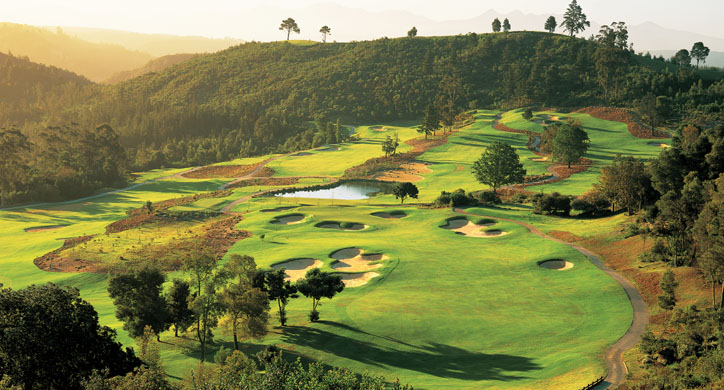 Golf an der Gardenroute, Fairway Simola Golfcourse