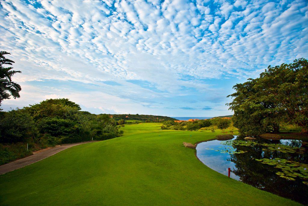 Golfrundreise Südafrika, Zimbali Country Club Fairway