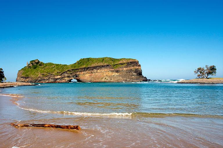 Ostküste Südafrika, Strand an der Wild Coast