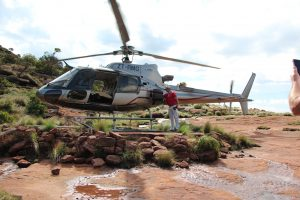 Legend Golf Course Helicopter